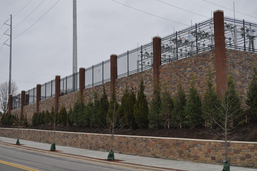 Progress Energy Retaining Wall Raleigh Nc Yelp
