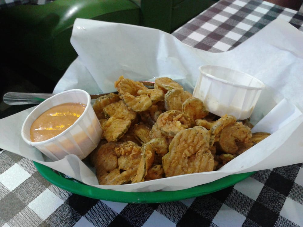 Fried pickles for appetizer yelp for Flying fish dallas