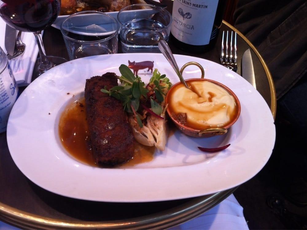 Pied de porc pan yelp - Le comptoir du relais restaurant reservations ...