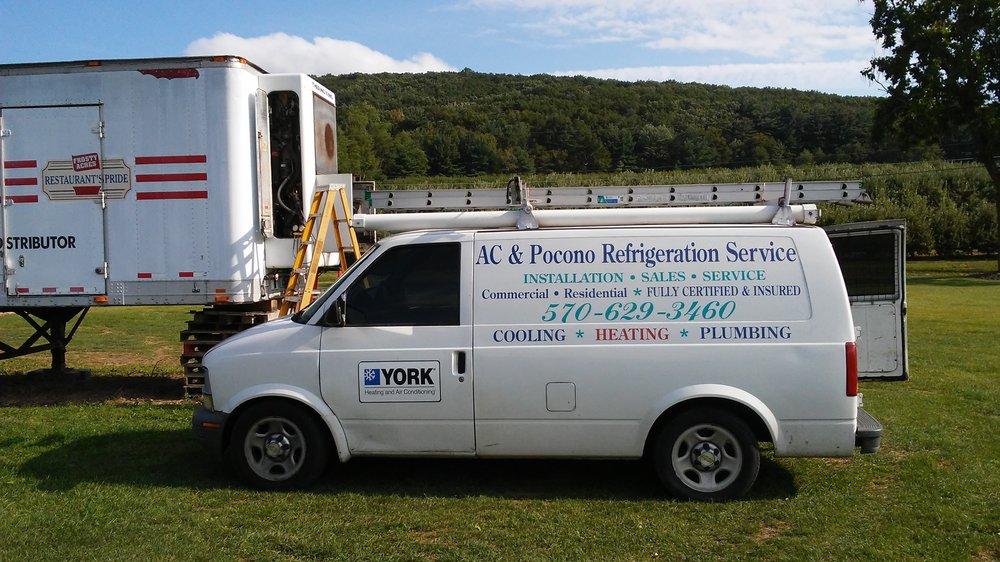 Pocono Refrigeration & Air Conditioning Service: 114 Log Cabin Lane, Effort, PA