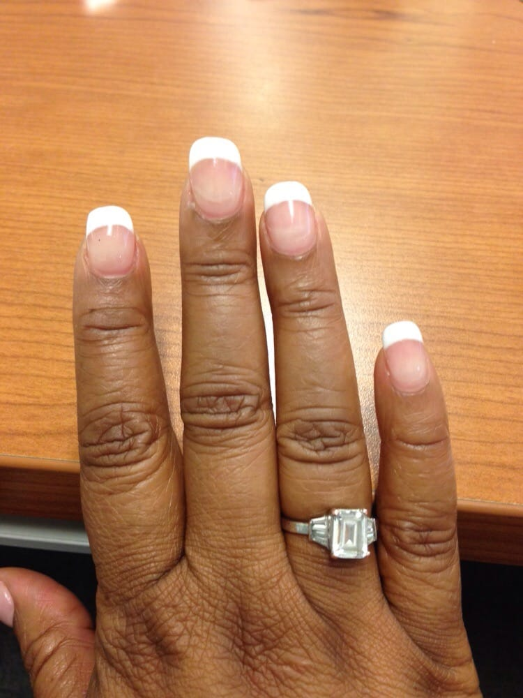 Fill-in with gel French Manicure - Yelp
