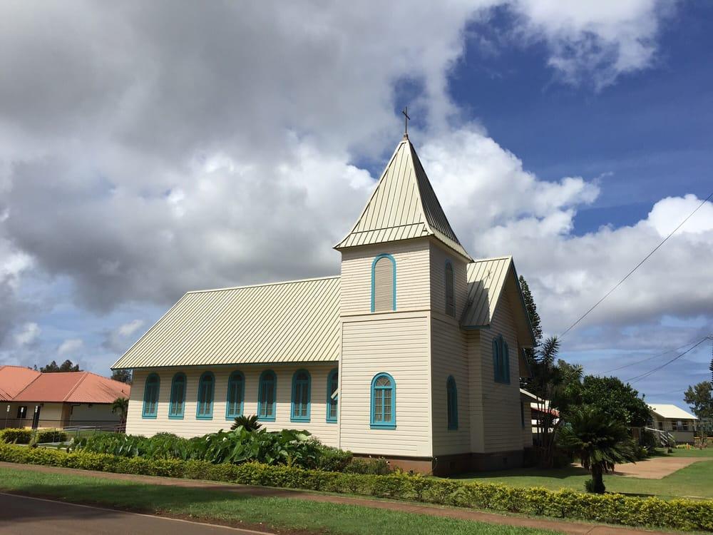 Sacred Hearts Church: 815 Fraser Ave, Lanai City, HI