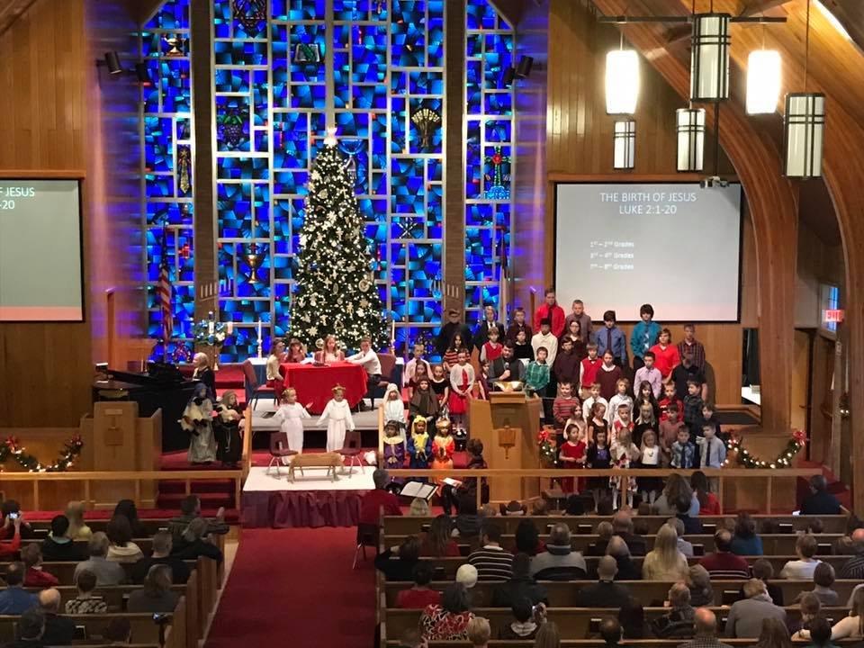 St. Peter's Lutheran: 408 West Bellevue St, Big Rapids, MI