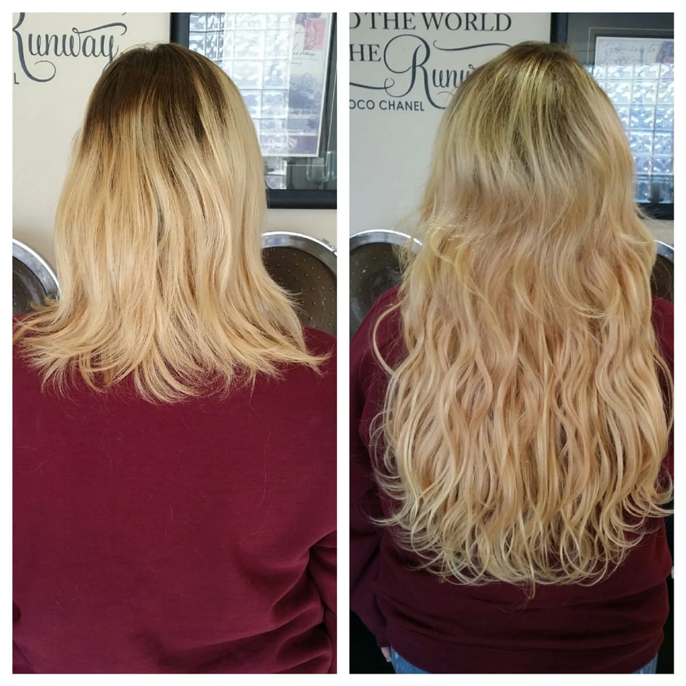 808 i tip 18 wavy micro bead extensions 100 remy human hair 438 photos for the salon avenue pmusecretfo Gallery