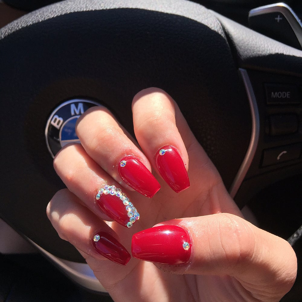 Got my nails done and half my nail ended up getting ripped off. I ...