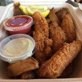 Photo of Hapuku Fish Shop - Oakland, CA, United States. Fish n chips