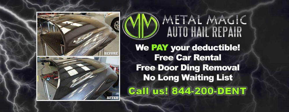Metal Magic Auto Hail Repair: 700 S. Cedar St., Borger, TX