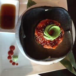 Bada Sushi - Suffern, NY, United States. Tuna tartare Minus quail egg