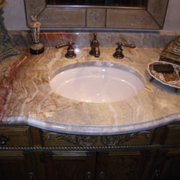 Photo Of Premier Granite   Milwaukee, WI, United States. Bathroom Granite  Countertop