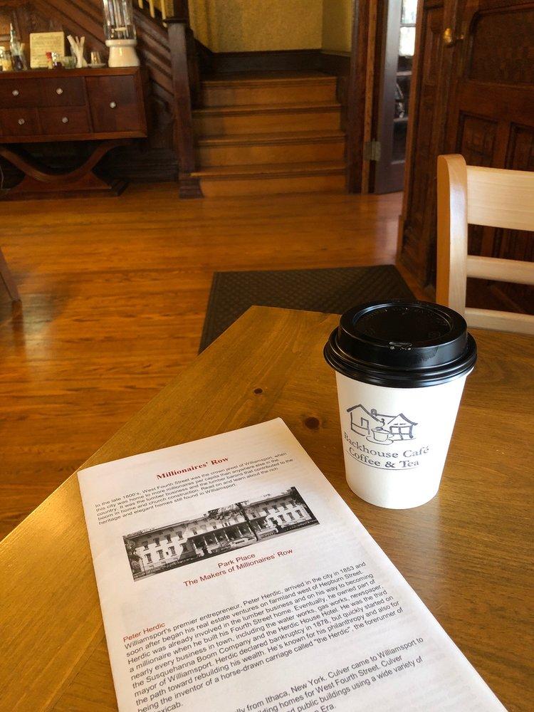 Backhouse Café Coffee &Tea: 901 W 4th St, Williamsport, PA