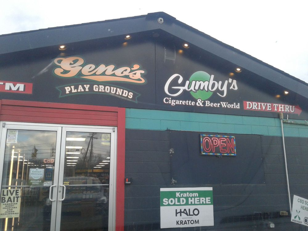 Gumby's Cigarette & Beer World: 515 Main St, Bridgeport, OH