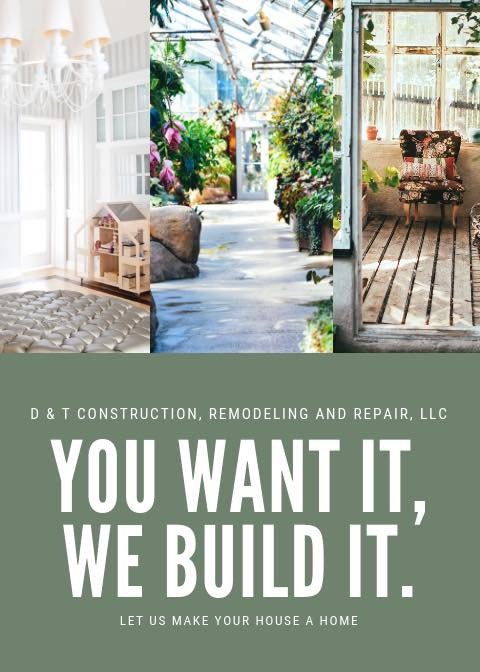 D & T Construction, Remodeling and Repair: 836 Dallas St, Jackson, MO