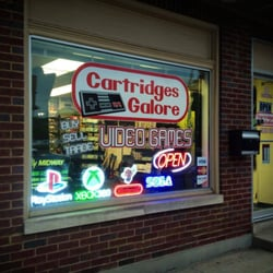 Cartridges Galore Video game store