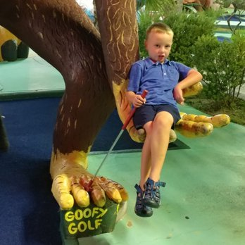 Photo Of Goofy Golf Panama City Beach Fl United States Fun Times