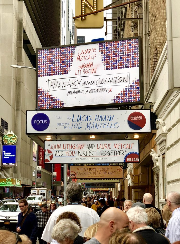 Hillary and Clinton on Broadway