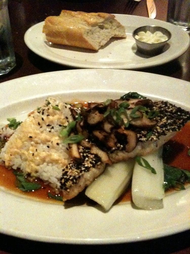 Swordfish With Ginger Sriracha Sauce And Bok Choy Yelp