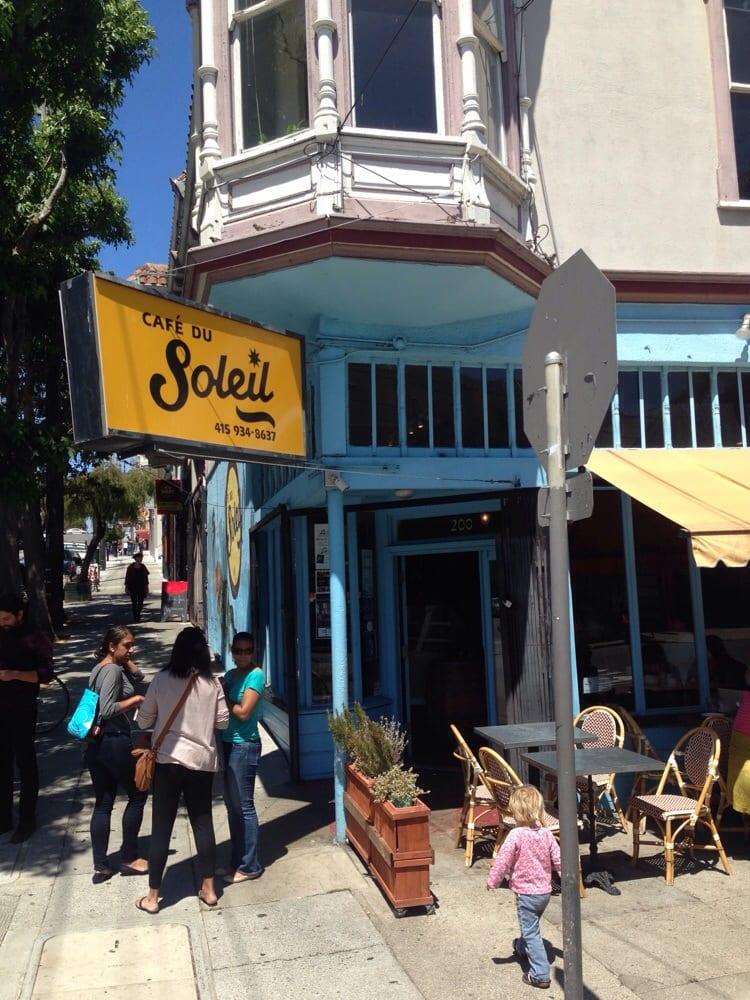 Cafe Du Soleil San Francisco Ca