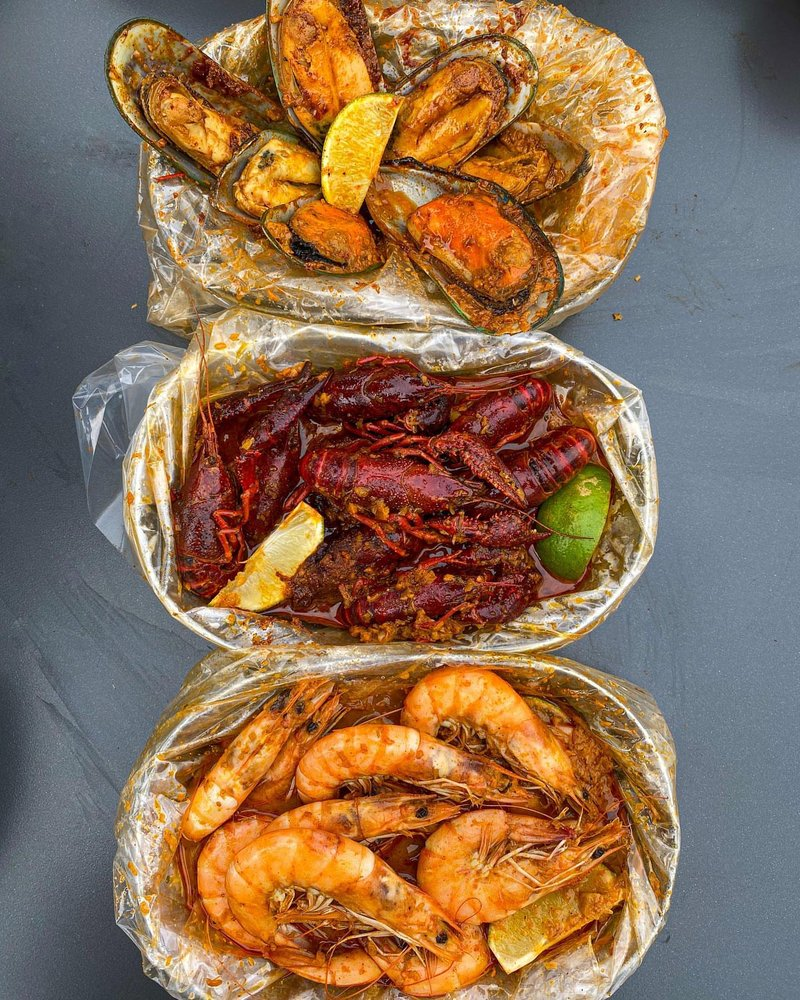 The Saucy Crawfish: 926 E Fowler Ave, Tampa, FL