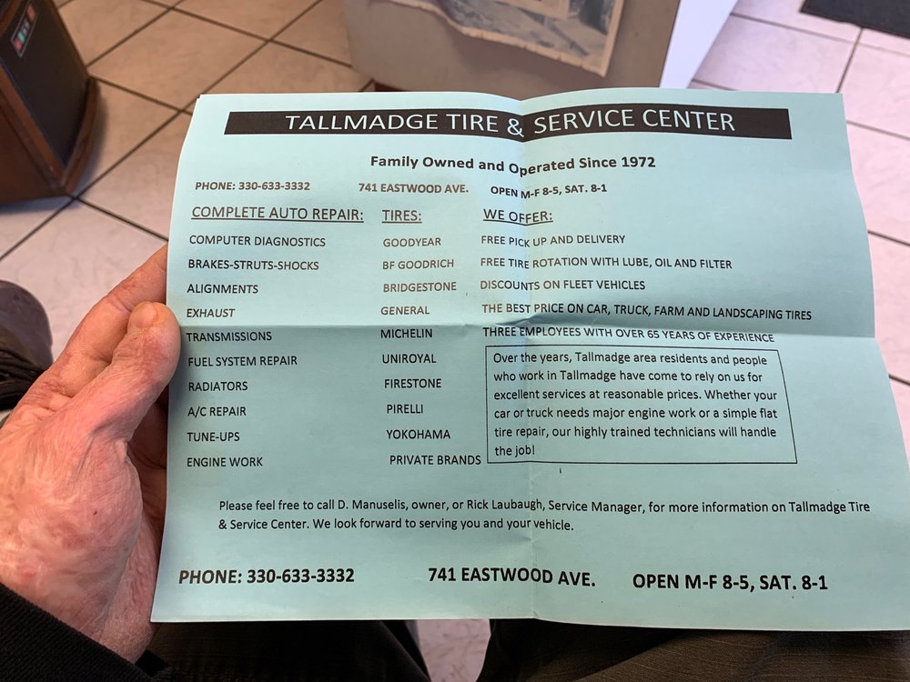Tallmadge Tire & Service Center