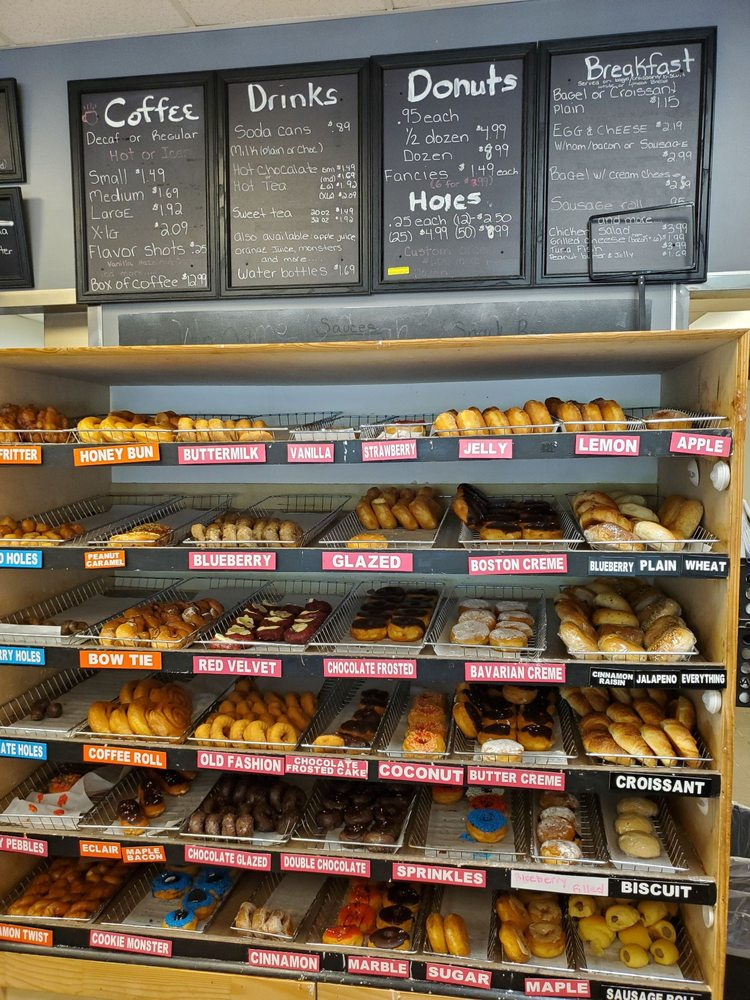 The Donut Shop - Bloomingdale: 502 E US Hwy 80, Bloomingdale, GA