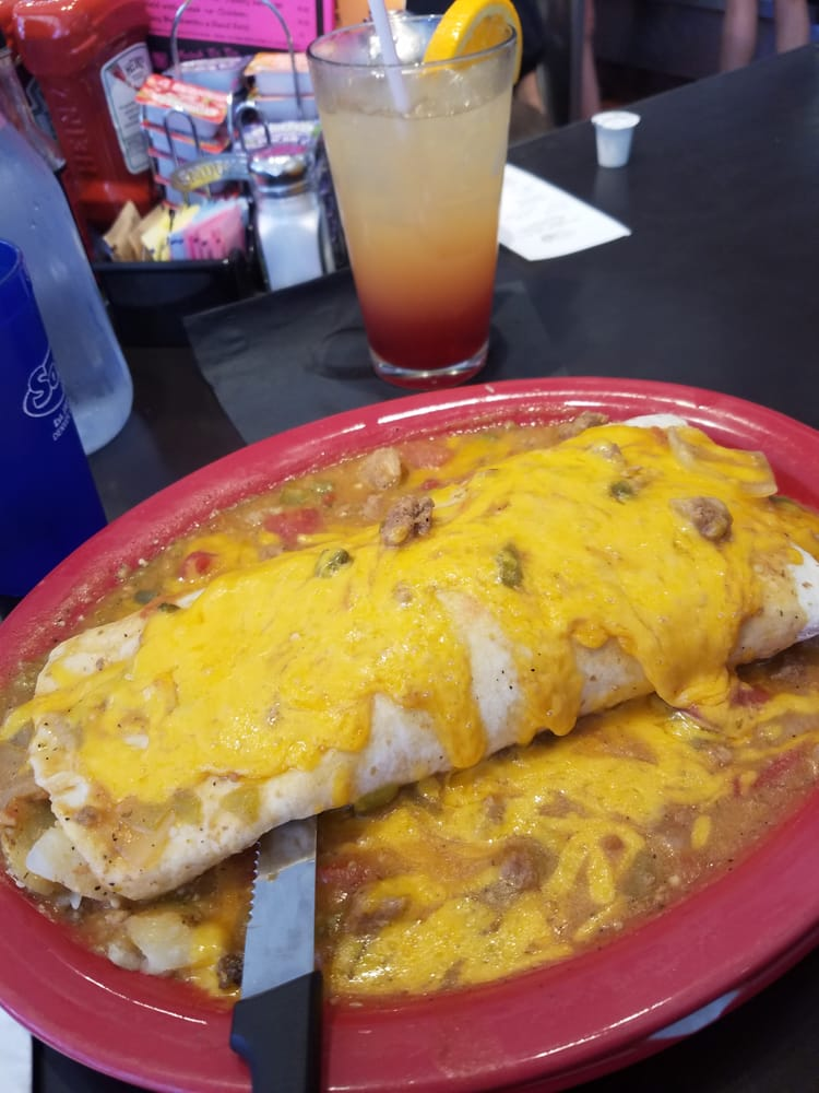 Photo of Sam's No. 3 - Downtown - Denver, CO, United States. Kitchen Sink Burrito