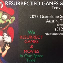 965524920e5f Resurrected Games - Video Game Stores - 2815 Guadalupe St ...