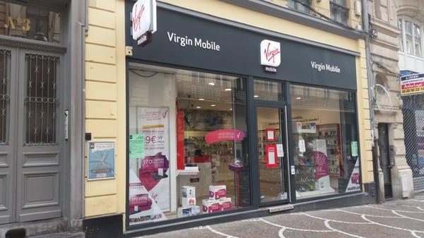 Virgin Mobile - Mobile Phones - 5 rue Sec Arembault, Centre