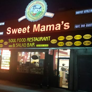 Sweet mama s soul food restaurant salad bar 65 photos for Food bar harlem