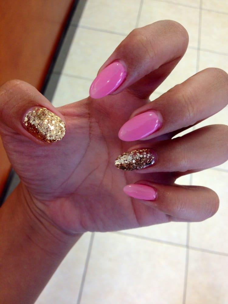 Nicki minaj inspired nails :P - Yelp