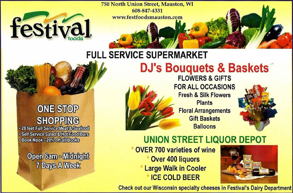 Festival Foods: 750 N Union St, Mauston, WI