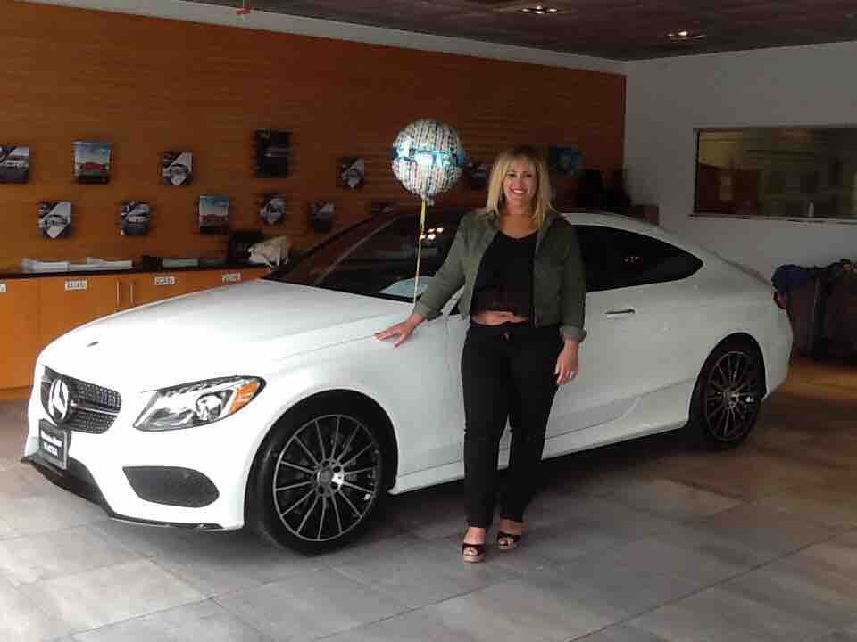 With my new beautiful ride 2017 c300 coupe w amg sport for Mercedes benz of seattle