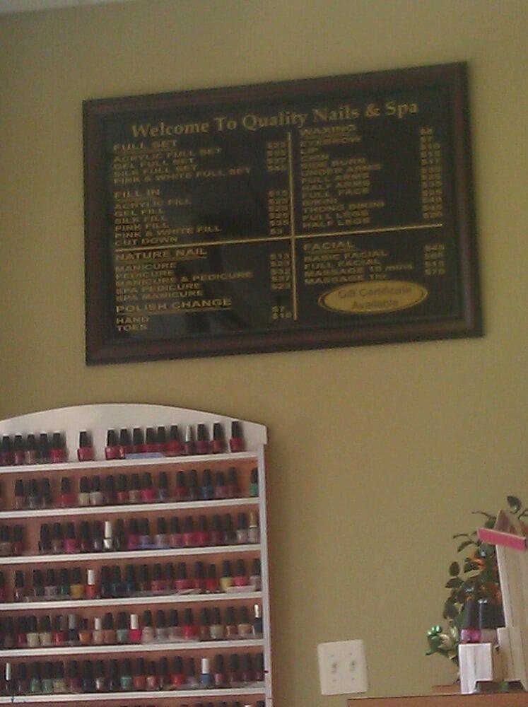 Quality Nail & Spa: 14130 Noblewood Plz, Woodbridge, VA