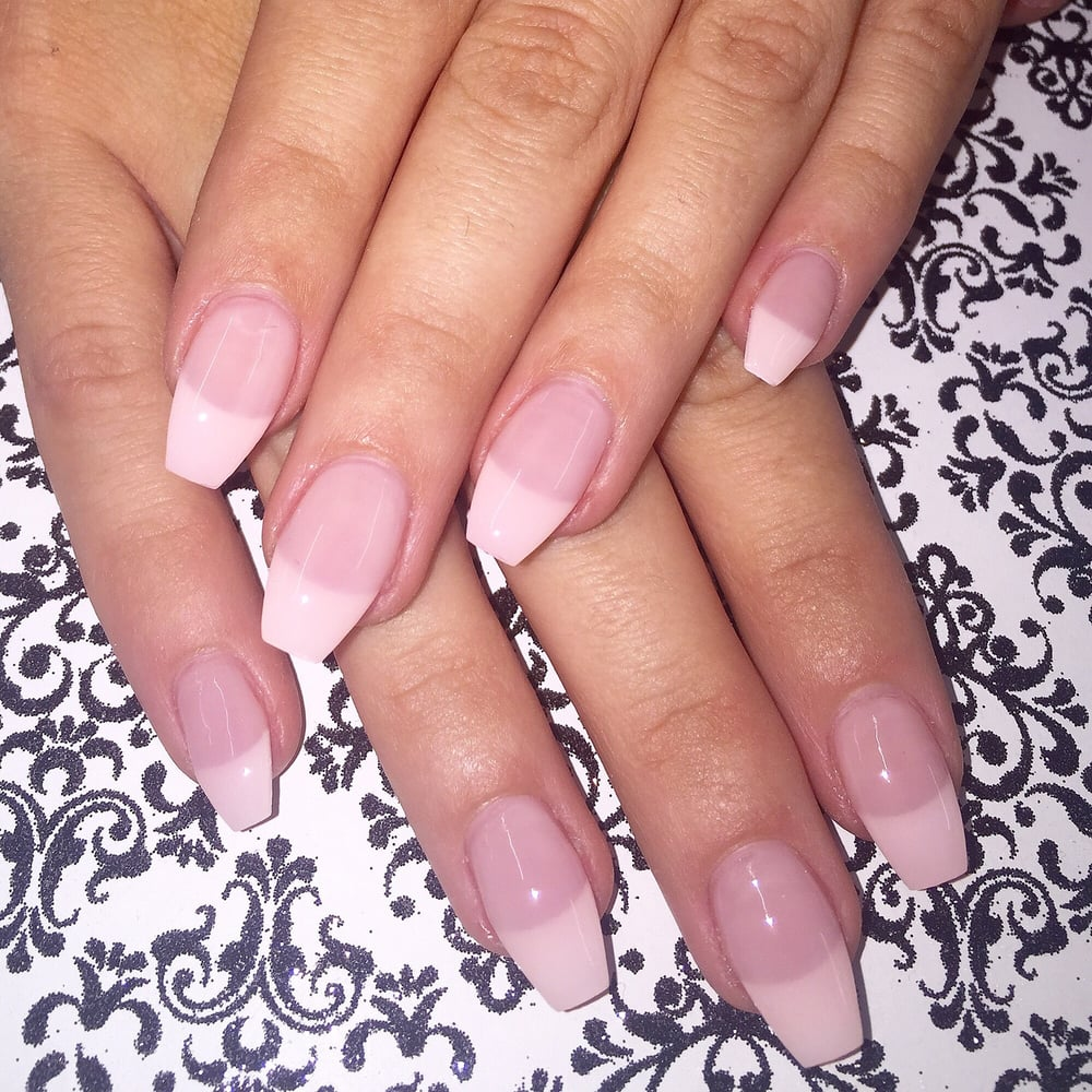 French tips coffin nails - Yelp