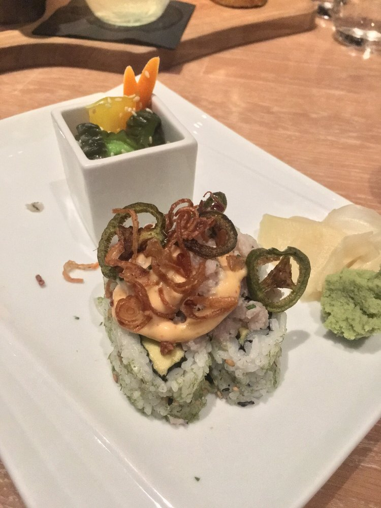 San diego restaurant week 2017 ceviche sushi roll yelp for Sally s fish house bar