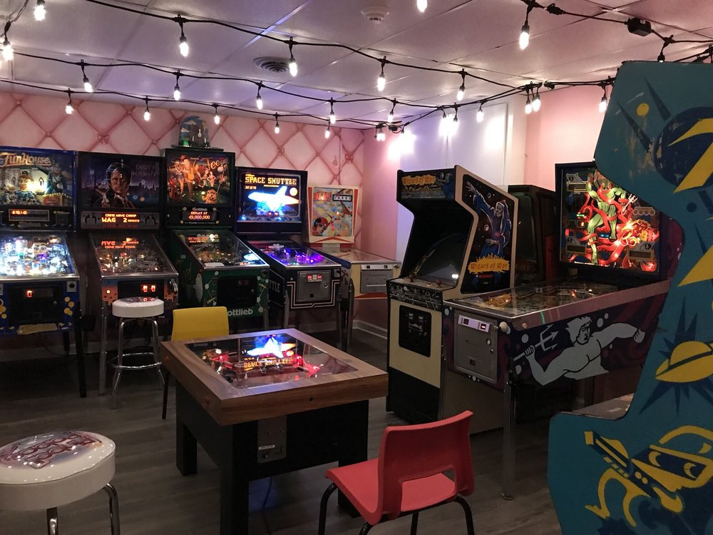 Social Spots from The Pinball Palace