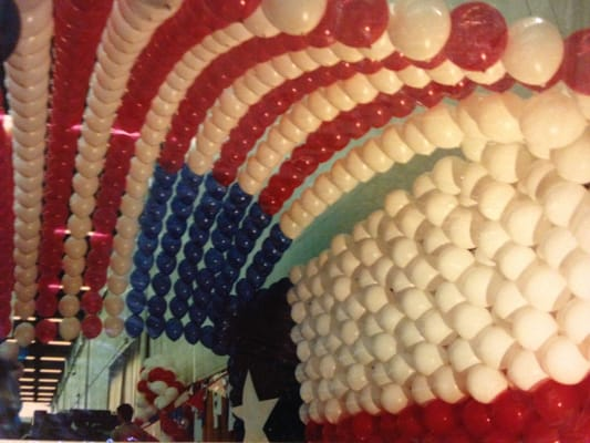 Balloons helium decoraci n con globos dallas tx for Decoracion estados unidos