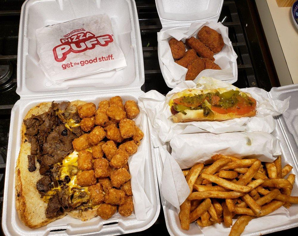 Overstuffed Dogs, Burgers & Beef: 19414 S La Grange Rd, Mokena, IL
