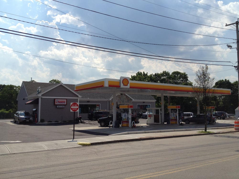 New Gas Station C Store Dunkin Donuts Car Wash New