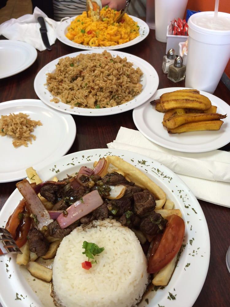 Peru Cafe Express Menu Houston Tx