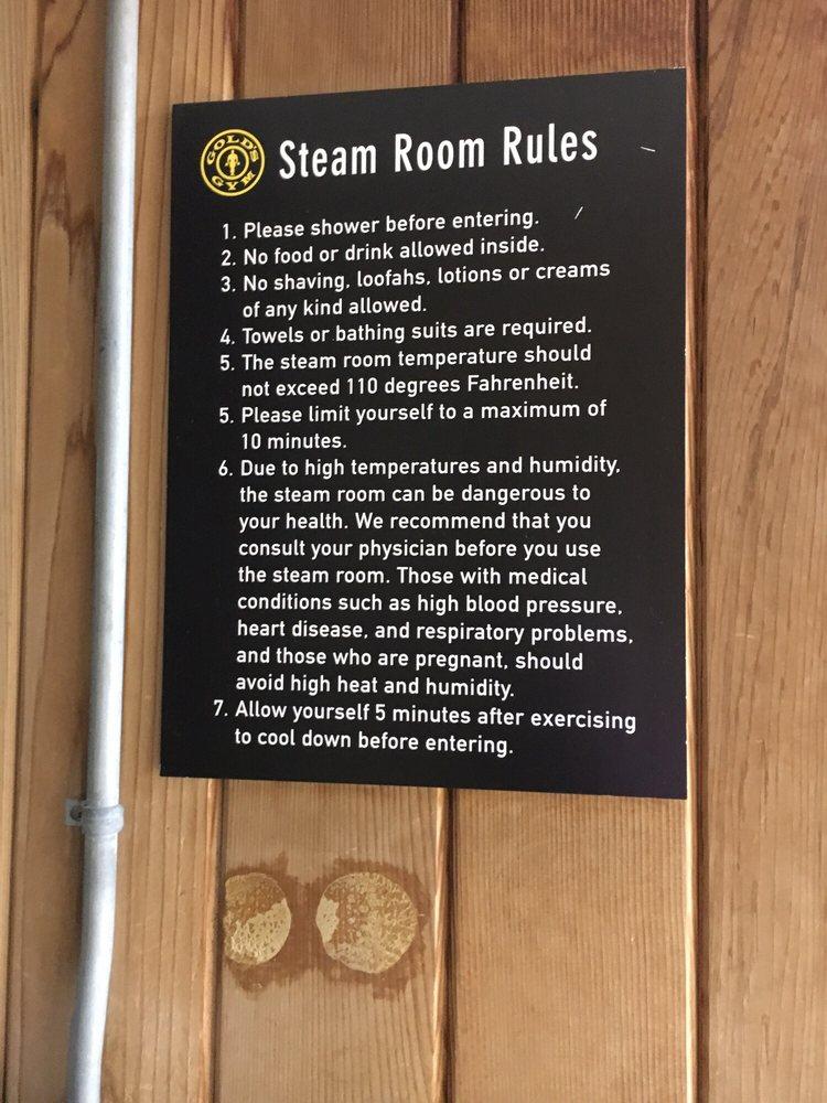 Steam room yelp