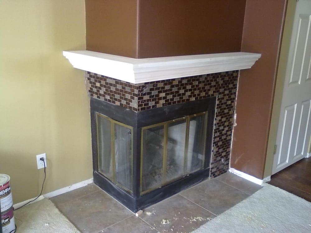 Corner Fireplace Mantel Shelf Yelp