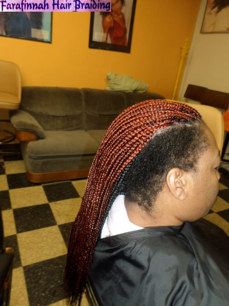 Box Braids Two Tone Layers Side Shaved Yelp