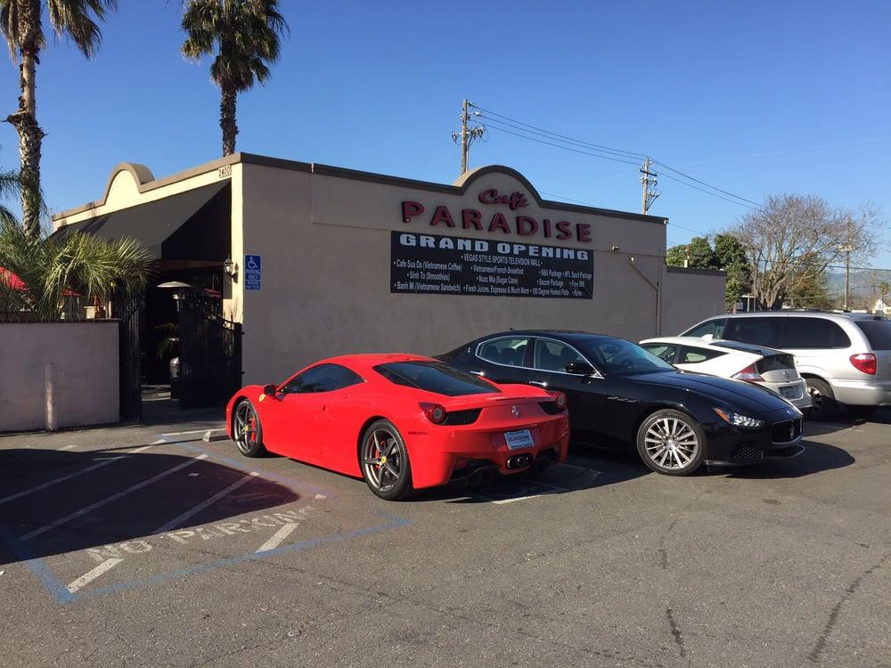 Cafe Paradise San Jose