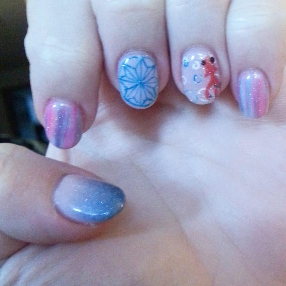Beautiful nail art I had sine today at I Love Nails! - Yelp