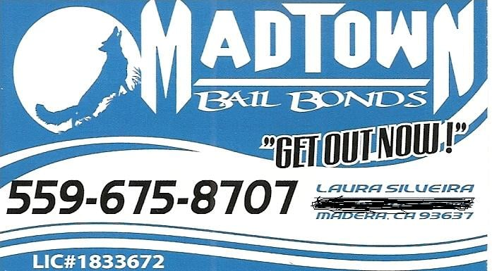 Madtown Bail Bonds: 17073 Road 26, Madera, CA