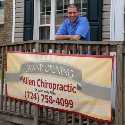 John K Allen Chiropractic: 601 Lawrence Ave, Ellwood City, PA