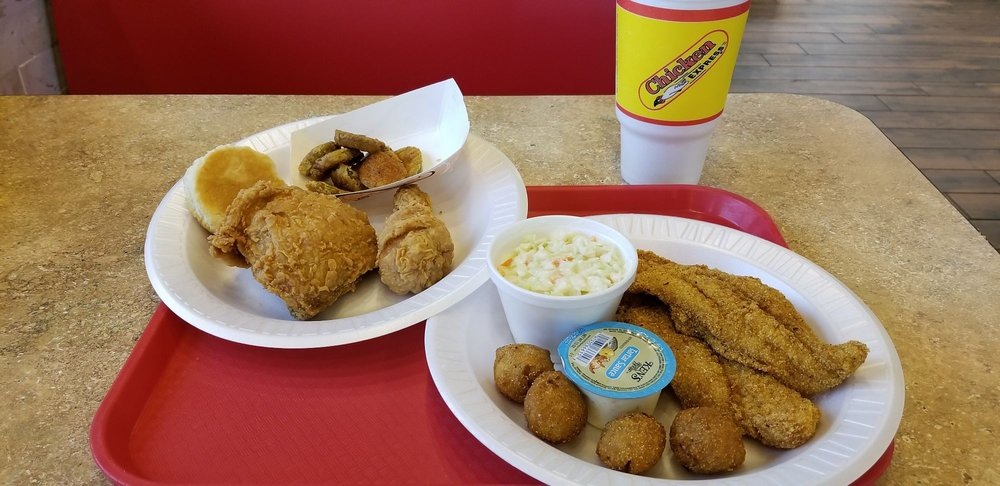 Chicken Express: 96 Cannan, Angleton, TX