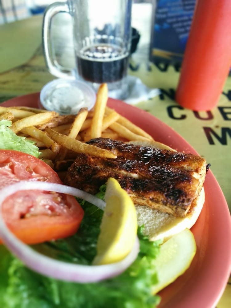 Blackened mahi sandwich yelp for Jack s fish house