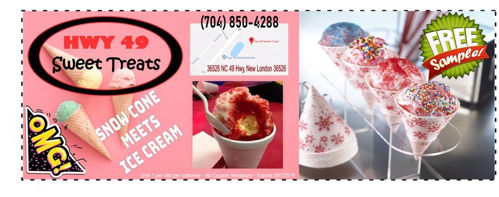 Hwy 49 Sweet Treats: 36526 Nc 49 Hwy, New London, NC