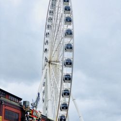 Photo Of The Seattle Great Wheel Wa United States Round And